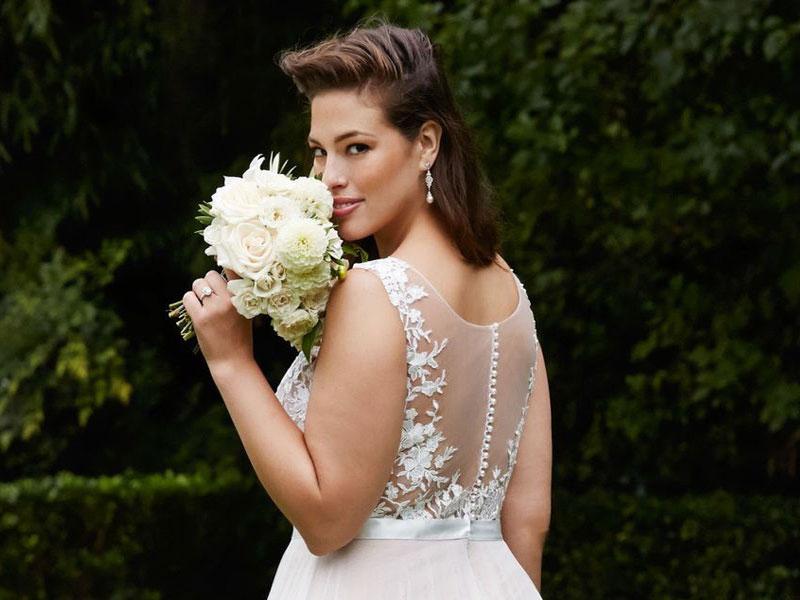 13415ccf8e Molett lányok is lehetnek gyönyörű menyasszonyok! – Milady Esküvői ...